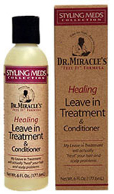 Dr. Miracle's Styling Meds Healing Leave In Treatment & Conditioner
