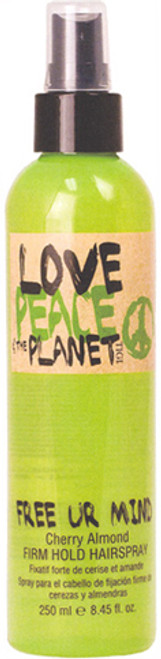 Tigi Love Peace and the Planet Free Ur Mind Firm Hold Hairspray