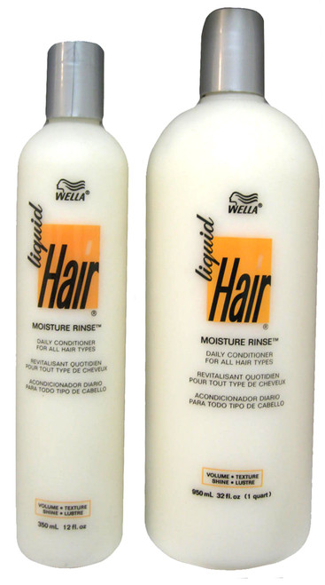Wella Liquid Hair Moisture Rinse Daily Conditioner for All Hair Types