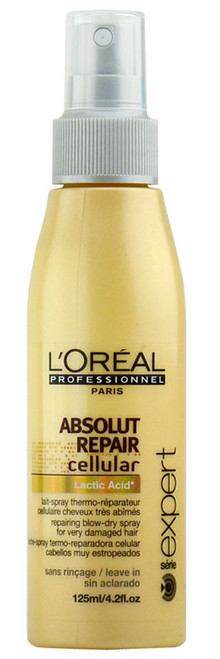L'Oreal Absolut Repair Cellular - Repairing Blow-Dry Spray for very damaged hair