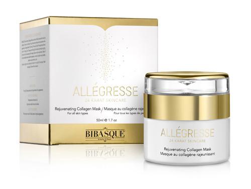 Allegresse 24K Gold Rejuvenating Collagen Mask