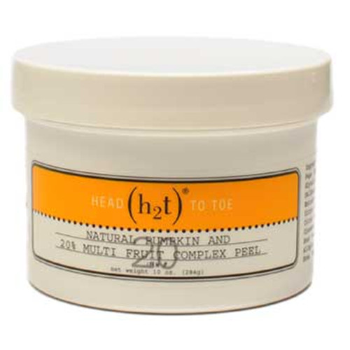 H2T Head to Toe Natural Pumpkin and 20% Multi-Fruit Complex Peel