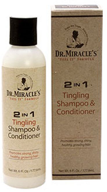Dr. Miracle's 2 in 1 Tingling Shampoo & Conditioner