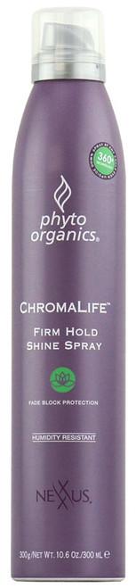 Nexxus Phyto Organics Chromalife Firm Hold Shine Spray