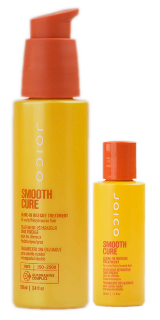 Joico Smooth Cure Leave-In Rescue Treatment for Curly Frizzy Hair