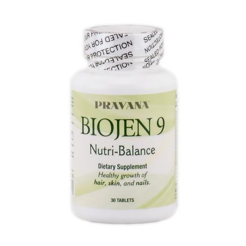 Pravana Biojen 9 Nutri-Balanace Dietary Supplement