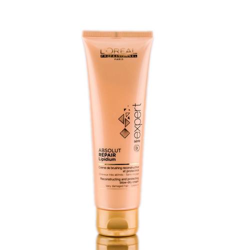 L'Oreal Serie Expert - Absolut Repair Lipidium Reconstructing & Protecting Blow-Dry Cream