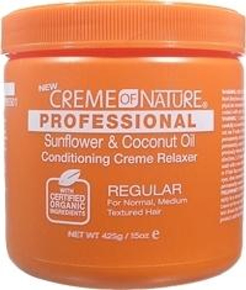 Creme of Nature Sunflower & Coconut Oil Conditioning Creme Relaxer (Regular)