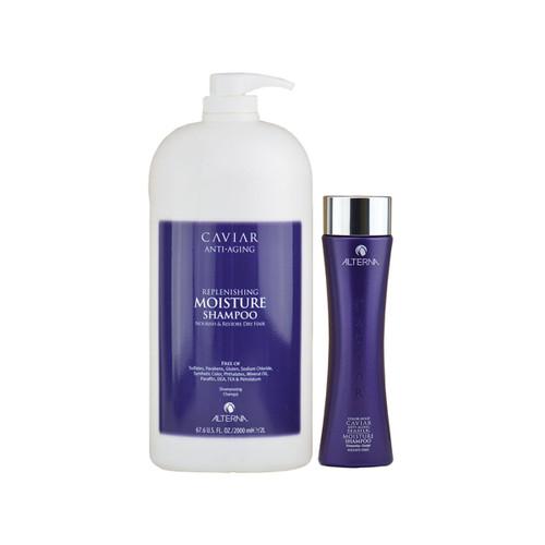 Alterna Caviar Anti-Aging Replenishing Moisture Shampoo - Sulfate-Free