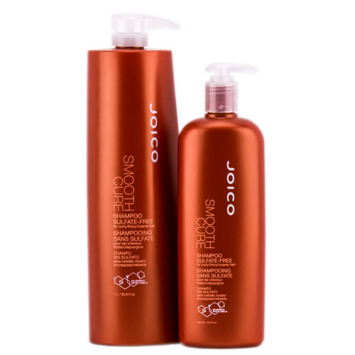 Joico Smooth Cure Sulfate-Free Shampoo for Curly Frizzy Hair
