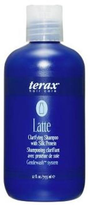 Terax Hair Care Latte - clarifying shampoo with silk protein