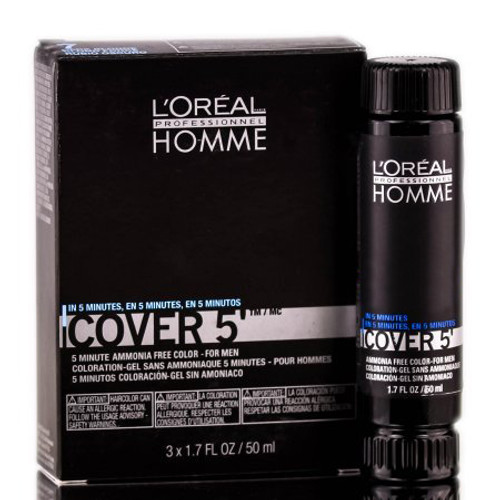 Loreal Homme Cover 5 - Ammonia Free 5-minute Color for Men