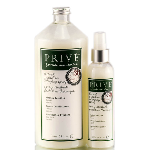 Prive Thermal Protection Detangling Spray - Herbal Blend #30