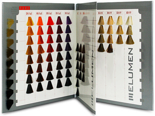 Goldwell Elumen Color Chart Book