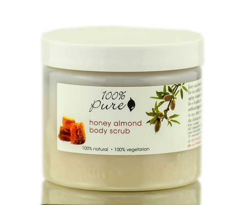 100% Pure Honey Almond Body Scrub