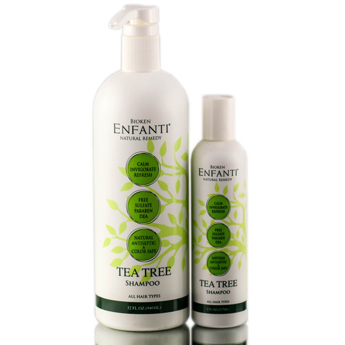 Bioken Enfanti Tea Tree Shampoo for all hair types