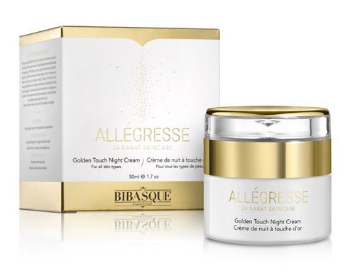Allegresse 24K Gold Goldwen Touch Night Cream - 1.7 oz