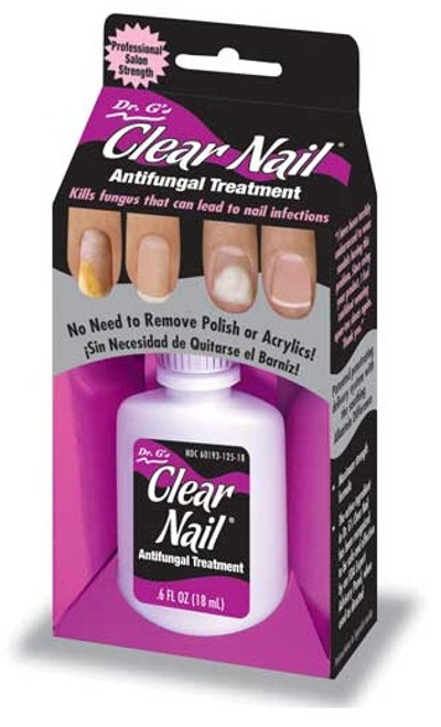 Nail Supplements: Dr. G's Clear Nail - Antifungal Treatment