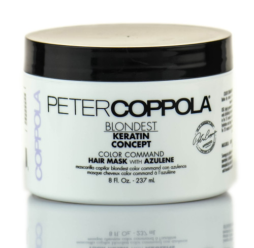Peter Coppola Keratin Concept Color Command Hair Mask w/ Azulene Jar