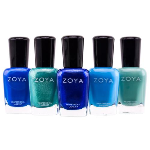 Zoya natural Nail Polish - Blue