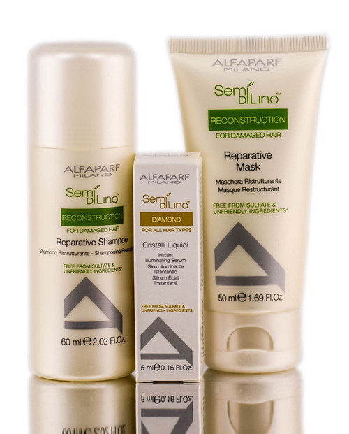 Alfaparf Hair Set - Shine & Repair Treatment
