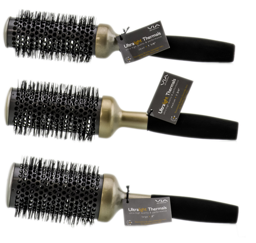Via Crystal Ion Ultra-Light Thermal Brush