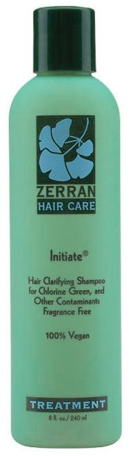 Zerran Initiate Hair Clarifying Shampoo for chlorine green, and other contaminants