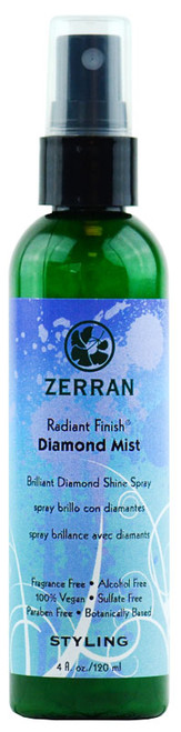 Zerran Radiant Finish Diamond Mist shine spray