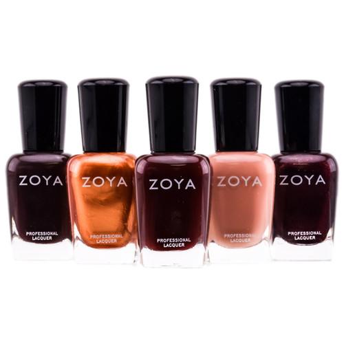 Zoya Natural Nail Polish - Browns