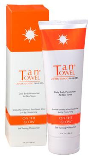 TanTowel On The Glow Self Tanning Daily Body Moisturizer