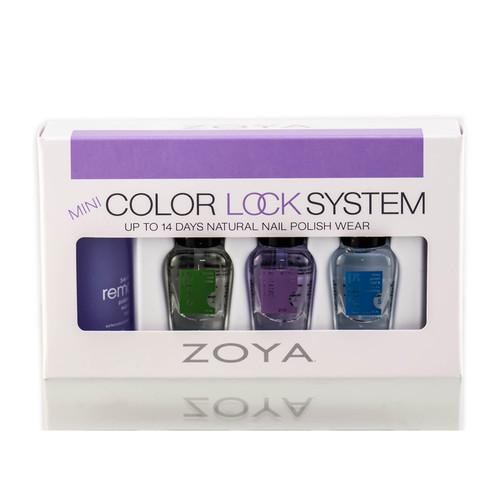 Zoya Mini Color Lock System