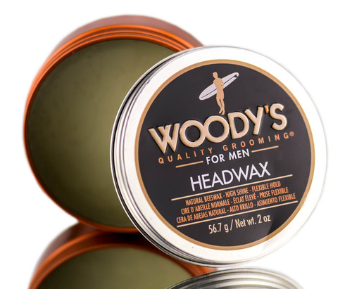 Woody's Head Wax Natural Bees Wax - High Shine