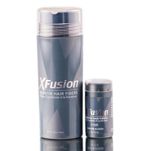 XFusion Medium Blonde Keratin Hair Fibers