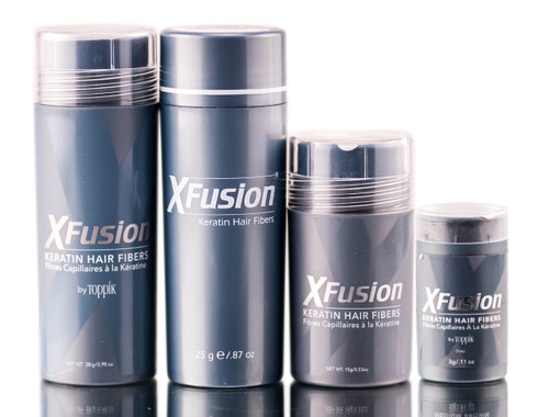 XFusion Gray Keratin Hair Fibers