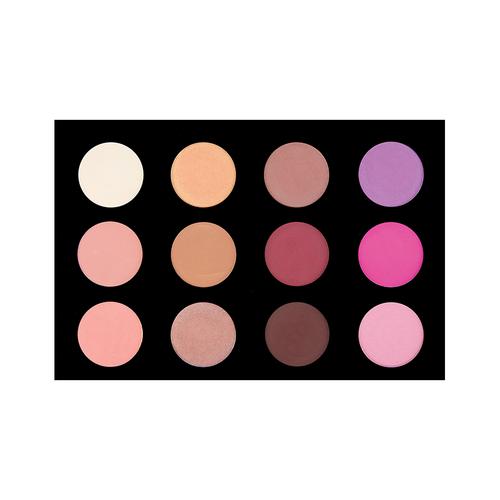 Crown Brush 12 Color Blush/Highlighting Palette