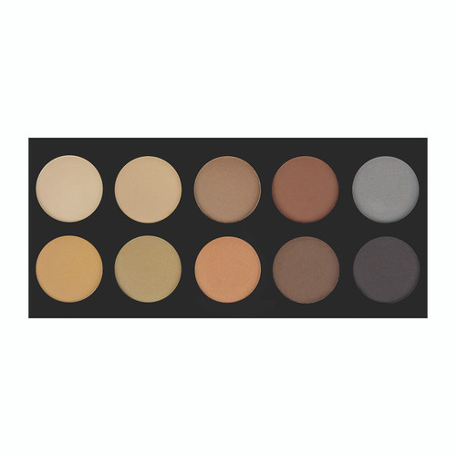 Crown Brush 10 Color Brow Palette