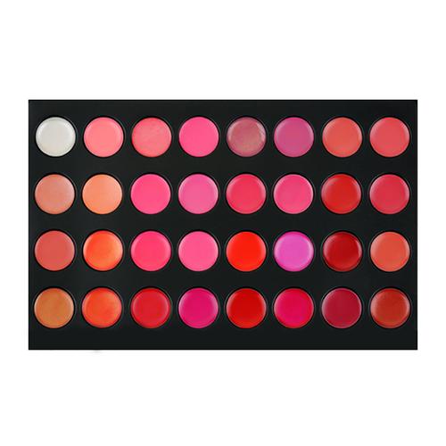 Crown Brush 32 Color Lip Palette