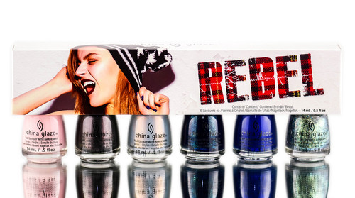 China Glaze Nail Lacquer - Rebel - Fall Collection