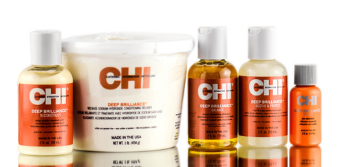 CHI Deep Brilliance No Base Hydroxide Relaxer