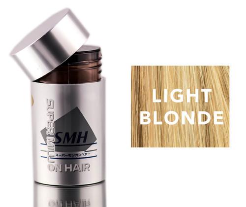 Super Million Hair Light Blonde Enhancement Fibers