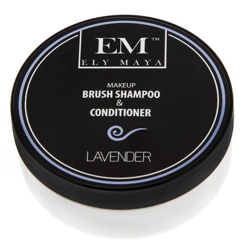 Ely Maya Make-up Brush Shampoo & Conditioner - Lavender
