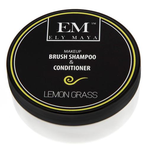 Ely Maya Make-up Brush Shampoo & Conditioner - Lemon Grass