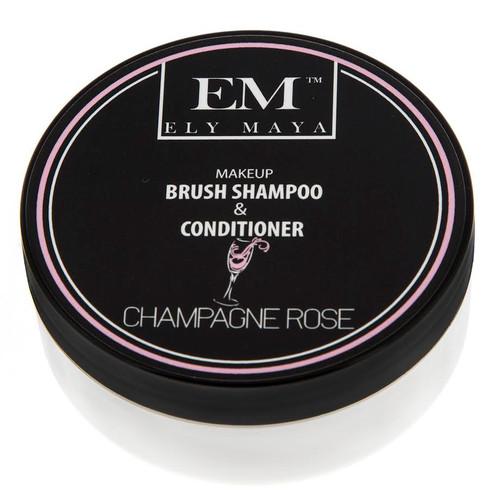 Ely Maya Make-up Brush Shampoo & Conditioner - Champagne Rose