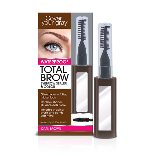 Cover Your Gray Waterproof Total Brow Eyebrow Sealer & Color