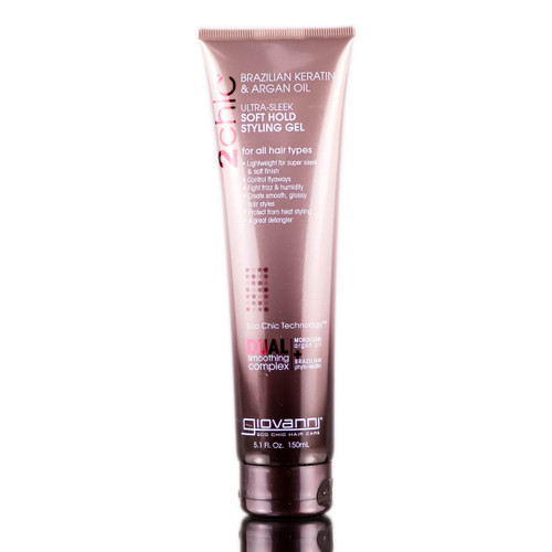 Giovanni 2 Chic Ultra Sleek Soft Hold Styling Gel