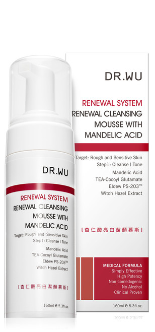 Dr.Wu Renewal System Renewal Cleansing Mousse (with Mandelic Acid)