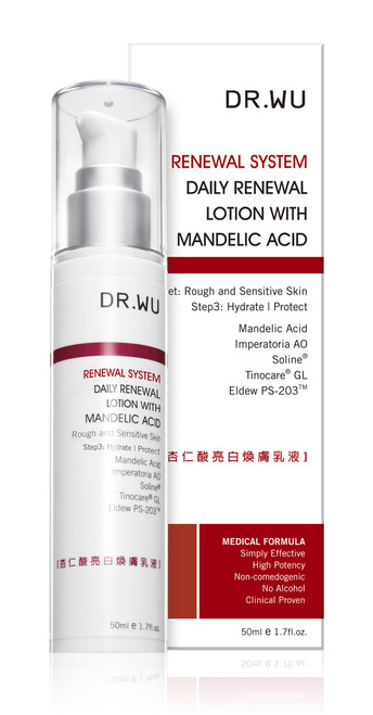 Dr.Wu Renewal System Daily Renewal Lotion (Mandelic Acid)