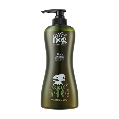 AlfreDog Aloe Lavender General Shampoo & Rinse