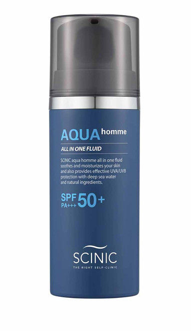 Scinic Aqua Homme All In One Fluid SPF50