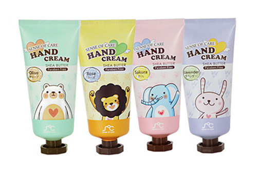 Asamo Sense of Care Shea Butter Hand Cream